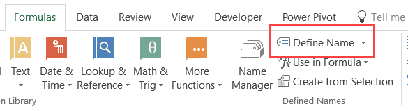 Image Lookup in Excel - define Name
