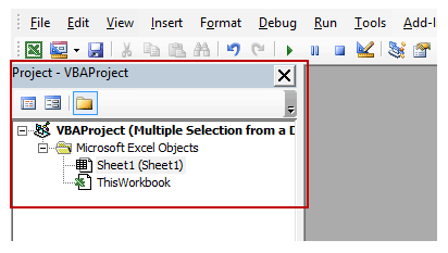 select multiple items from a drop down list in excel - Project Explorer