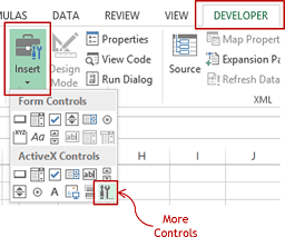 Embed Youtube Video in Excel - More Controls