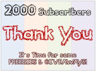 2000 Subscribers - ThankYou