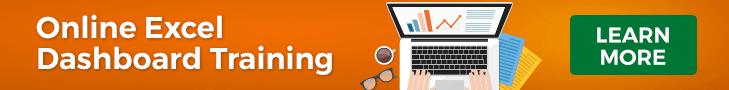 Online Excel Dashboard Training - 728x90