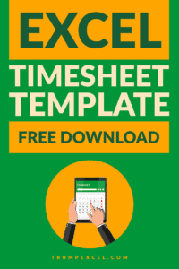 Excel Timesheet Template 2