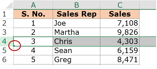 How to Insert Multiple Rows in Excel - Green Square