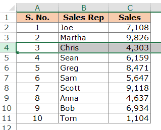 How to Insert Multiple Rows in Excel - Select Row mouse