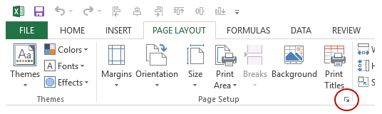 How to Insert Page Numbers in Excel Worksheets - Page setup DB Launcher