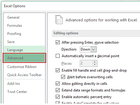How to Remove Gridlines in Excel - Advanced