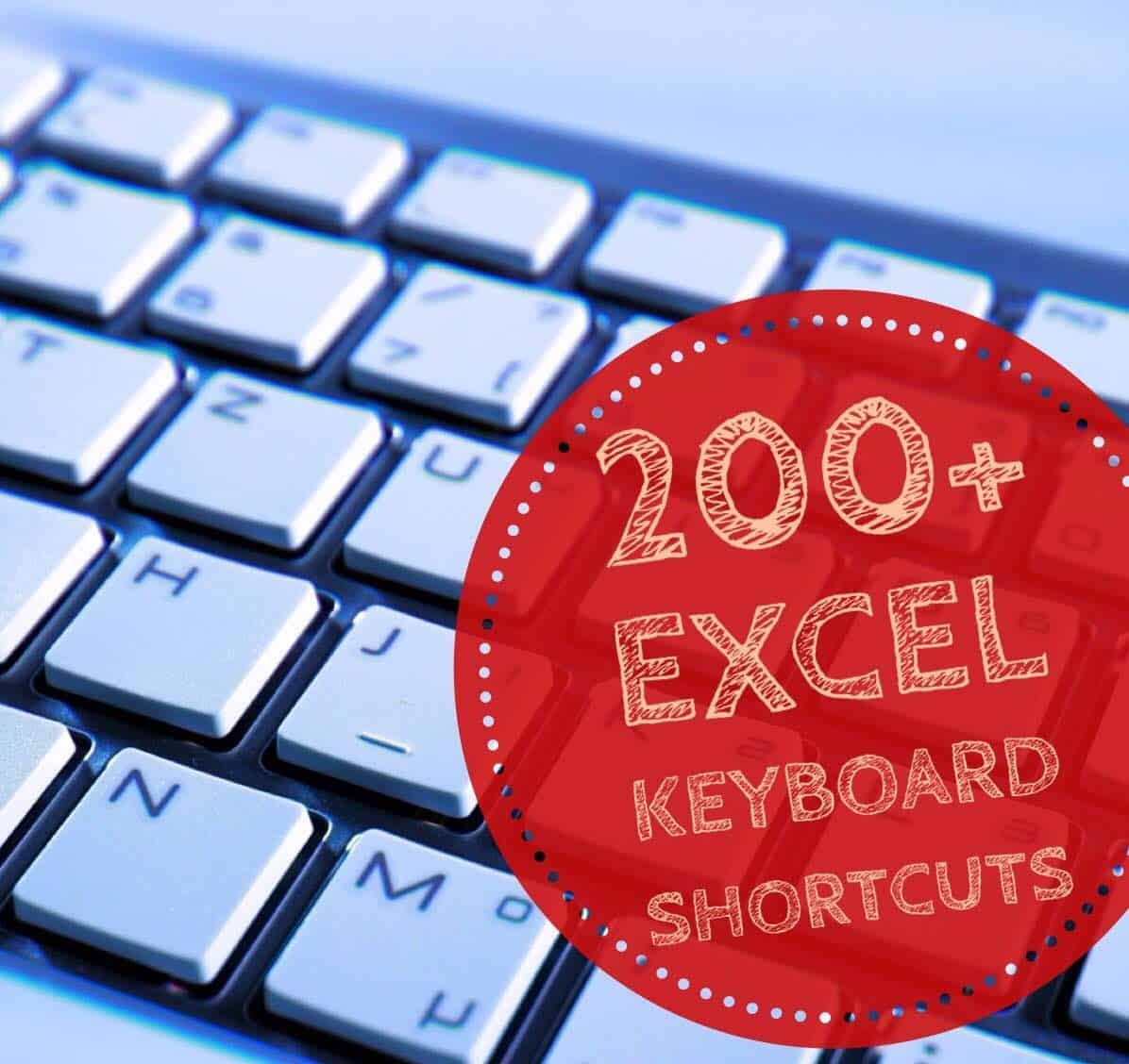 200+ Excel Keyboard Shortcuts