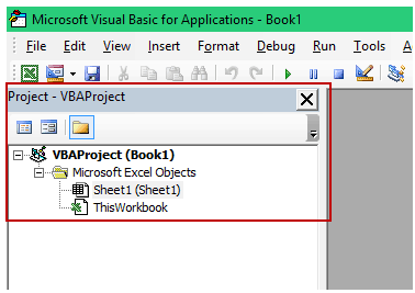 Create an Excel Add-in - Project Explorer