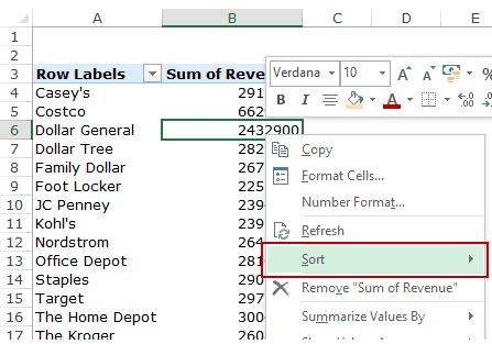 Creating a Pivot Table in Excel - Step by Step Tutorial