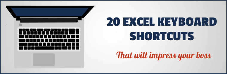 20 Excel Keyboard Shortcuts Cover2