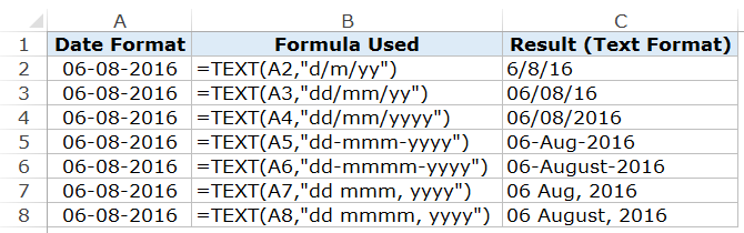 Excel DATEVALUE Function: Convert Text Values to Dates