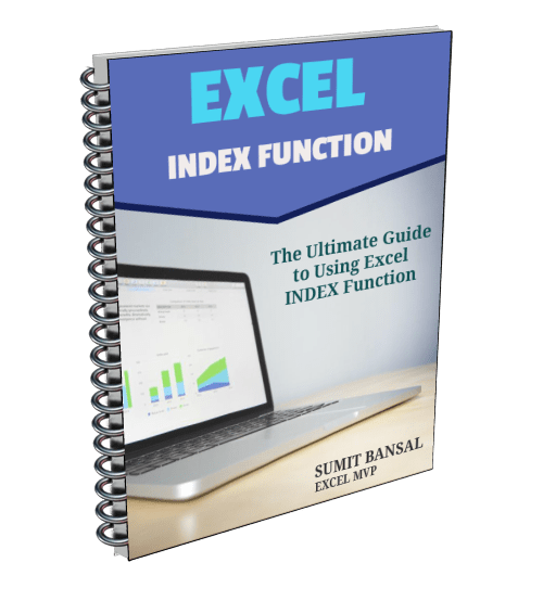 Excel Index Function Ebook