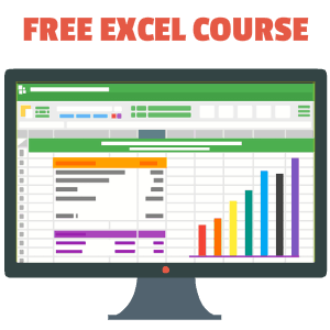Free Online Excel Training Popup Image