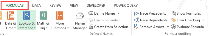 Show Formulas in Excel Instead of the Values - Formulas