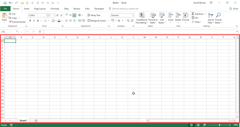 Learn Basic Excel - Cells