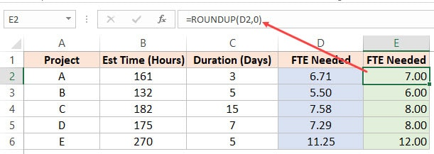 How to Round to the Nearest Integer or Multiple of 0 5 / 5 / 10 in Excel