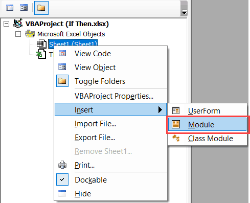 If Then Else Statement in Excel VBA (explained with examples)