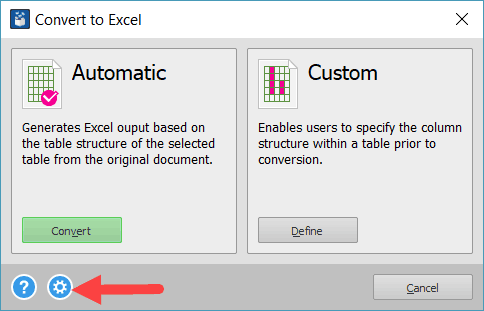Extract All the tables from PDF to Excel