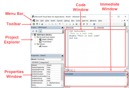 Record a Macro in Excel - Vb Editor Anatomy