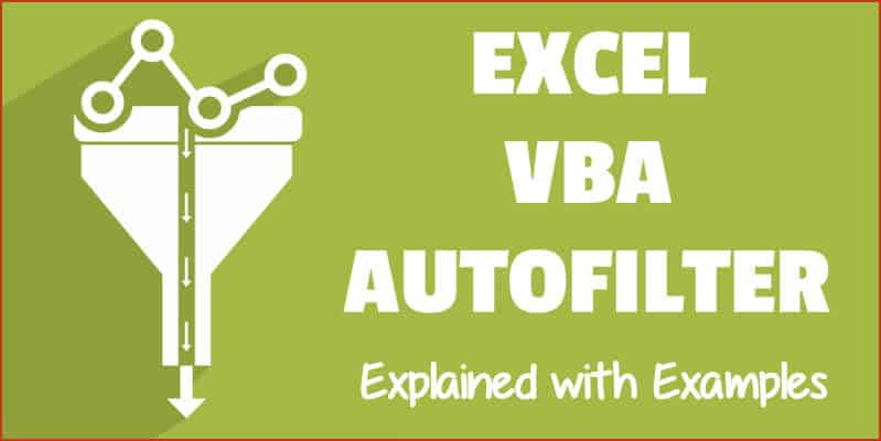 Excel vba autofilter a complete guide with examples ibookread ePUb