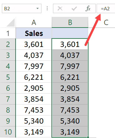 Get Data in Adjacent column with a formula