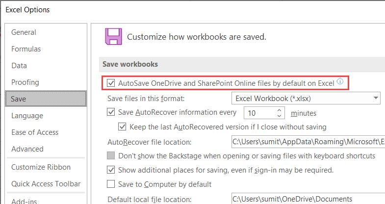 Turn-On-Autosave Flip On AutoSave in Excel (An Straightforward Information)